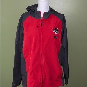 ADULT LARGE OFFICIAL NEW MEXICO SOFTSHELL JACKET